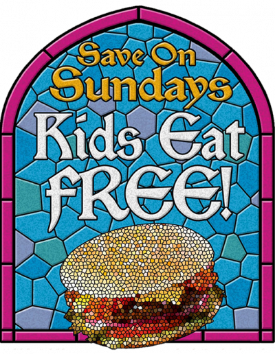 save_sunday_poster_food